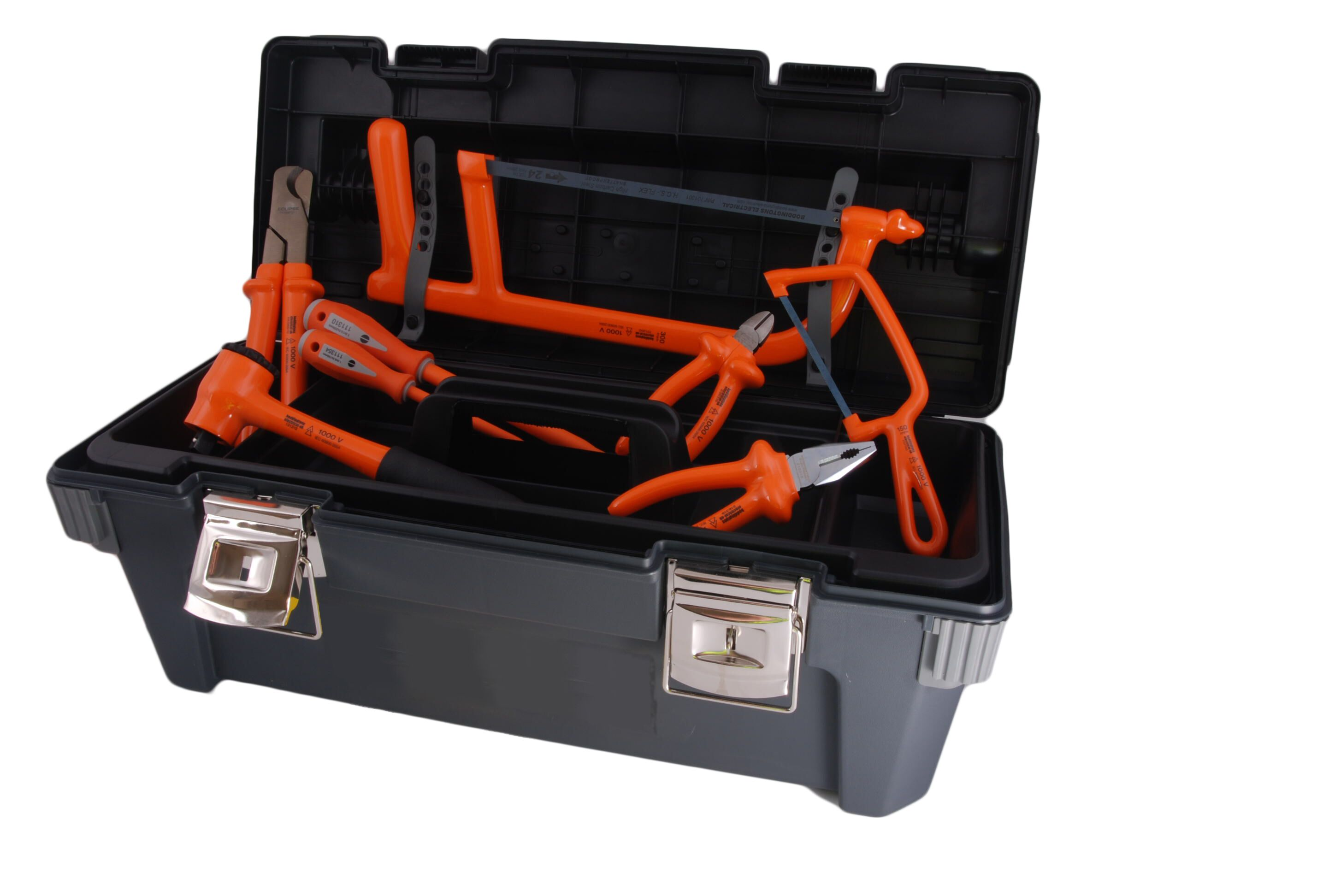 Boddingtons Electrical 240K02 32 Piece Jointer's Tool Kit 2 - Insulated Tools For Live Line Working & Electrical Safety