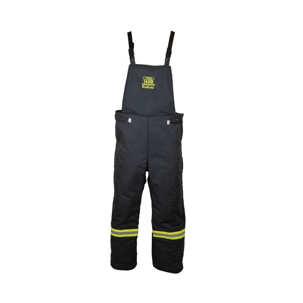 Oberon TCG140B-BIB TCG140B™ Series Ultralight Arc Flash Bib Overalls, Category 4+, 140 cal/cm2