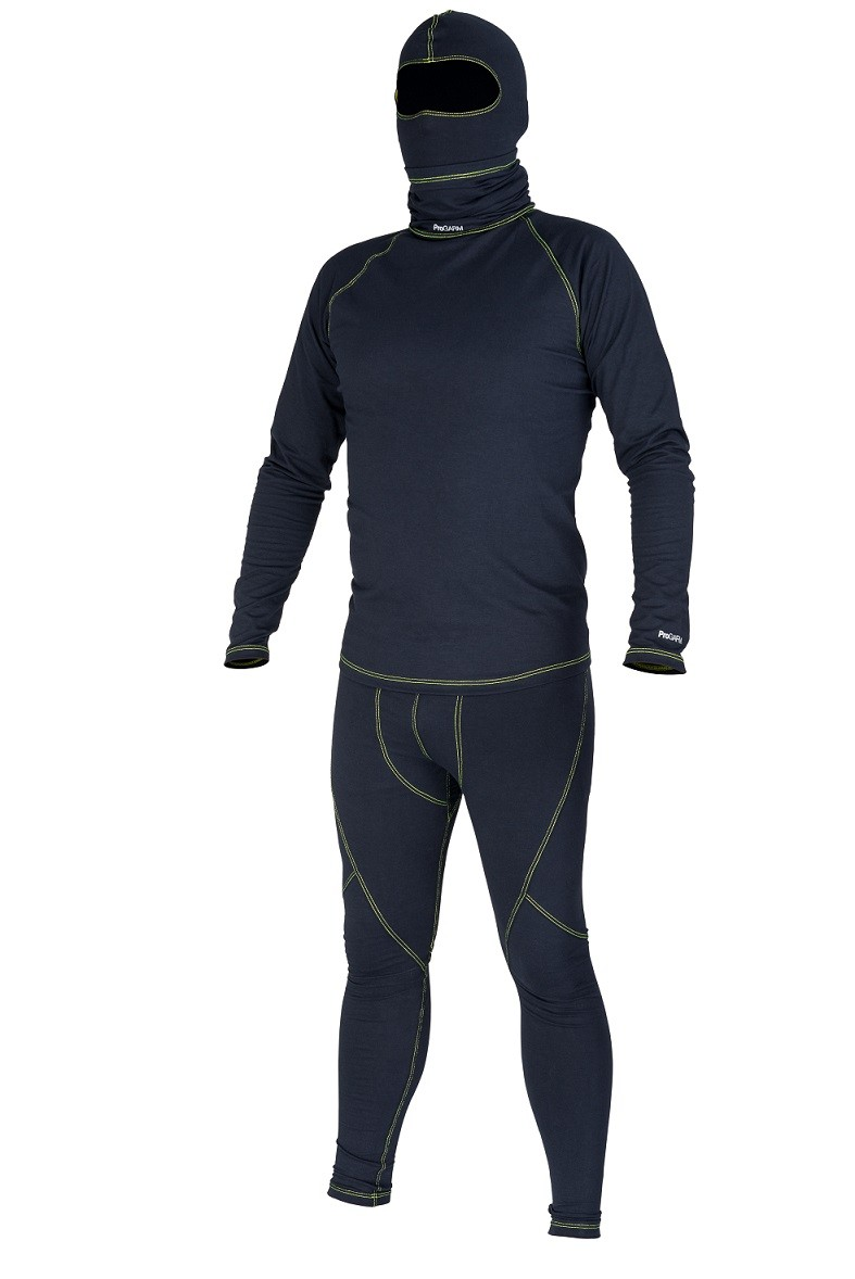 ProGARM 8210 Mens Navy Flame Resistant Baselayer Top To Be Worn In Conjunction with Leggings, 4.9cal/cm2