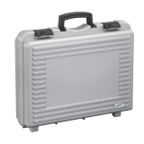 Boddingtons Electrical Moulded Polypropylene Tool Case in Metal Grey, 460 x 325 x H 120 mm Internal Dimensions