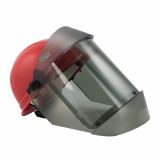 Oberon 21AGR30AF-C TCG30™ Series Arc Flash Face Shields and Hard Caps, Category 2, 30 cal/cm2