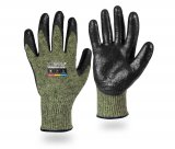 ProGARM 2700 Arc Flash Khaki Gloves, Neoprene and Natural Rubber, Category 2, 8.6cal