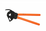 Boddingtons Electrical 251525 Insulated Ratchet Cutters, 550mm Length, 80mm Jaw Opening, 1000mm² Material Cross Section