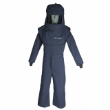 Oberon LNS4A LAN40™ Series Arc Flash Hood and Coverall Suit Set, Category 4, 42 cal/cm2