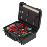 Boddingtons Electrical CA0065 IP67 , Dust Resistant, Impact Resistant, Hardware Tool Cases, Internal Dimensions 426 x 290 x H 159 mm