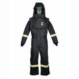 Oberon TCG3A TCG25™ Series Arc Flash Hood and Coverall Suit Set, Category 3, 27 cal/cm2
