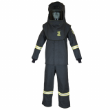 Oberon TCG3B TCG25™ Series Arc Flash Hood, Coat, and Bib Suit Set, Category 3, 27 cal/cm2