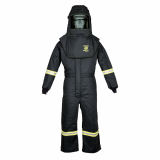 Oberon TCG4A TCG40™ Series Arc Flash Hood and Coverall Suit Set, Category 4, 46 cal/cm2