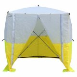 Boddingtons Electrical 616000 Yellow & White Non-Conductive Jointers Tent  1.8(l) x 1.8(w) x 2.0(h)