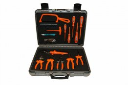 Boddingtons Electrical 1000V5 17 Piece Tool Kit - Insulated Tools For Live Line Working & Electrical Safety