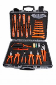 Boddingtons Electrical 1000V8 25 Piece Tool Kit - Insulated Tools For Live Line Working & Electrical Safety