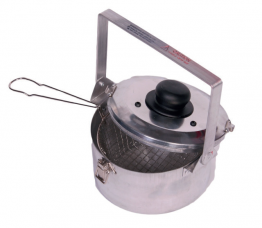 Boddingtons Electrical 800100 Damp Testing Saucepan with Inner Basket and Clip On Lid
