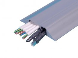 Boddingtons Electrical Grey PVC Cable Protect Comnet, 32 x 12mm Hole Size , 9M Length