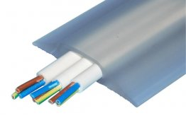 Boddingtons Electrical Clear PVC Cable Protect Multi, 30 x 10mm Hole Size , in 9M Length