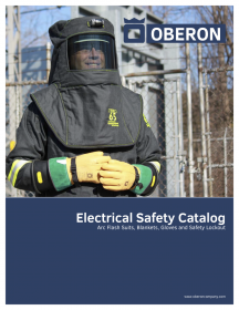 Downloadable Oberon Company Arc Flash Electrical Safety Catalogue (6MB)