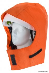 ProGARM 9441 Hi-Vis Orange Waterproof Helmet Hood