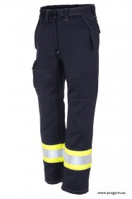 ProGARM 5814 Arc Flash Ladies Navy/Yellow Trousers , 12.0cal/cm2