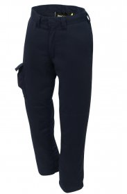 ProGARM 7638 Arc Flash Protection Class 1 Navy Trousers and Flame Resistant Fabric, 9.5cal/cm2