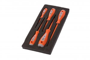Boddingtons Electrical 110700 Insulated 5 Piece Screwdriver Set 1 including Slotted and Pozi