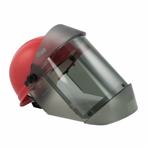 Oberon 21AGR12AF TCG12™ Series Arc Flash Face Shields and Hard Cap, Category 2, 17 cal/cm2