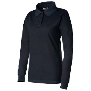 ProGARM 5202 Arc Flash Flame Resistant Navy Ladies Polo Shirt, Class 1 4kA,  14.2cal/cm2