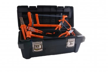Boddingtons Electrical 240K03 38 Piece Jointer's Tool Kit 3 - Insulated Tools For Live Line Working & Electrical Safety