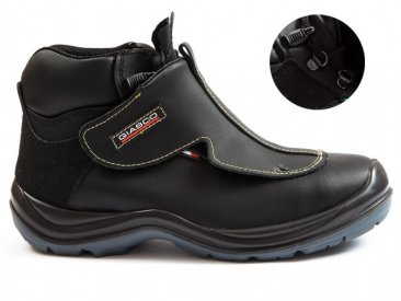 Giasco HR066D ErcoLano Hard Rock Antistatic PU Safety Shoes, SB 3 Class,  Kevlar MidSole and Polymeric Composite ToeCap