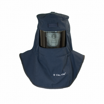 Oberon LAN2ST-A* LAN2ST™ Series Arc Flash Hoods with Adapter, Category 2, 12 cal/cm2