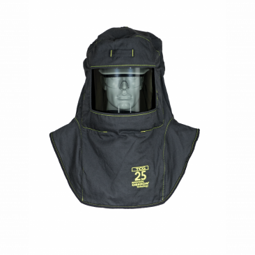 Oberon TCG25-A TCG25™ Series Arc Flash Hoods with Adapter , Category 3, 27 cal/cm2