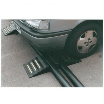 Boddingtons Electrical 2 Channel Cable and Hose Ramps, 830 x 320 x 102mm, Maximum Hole Size 94x90mm